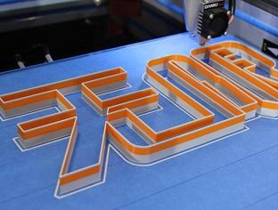 打印发光字